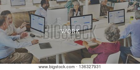 Work Working Career Occupation Productivity Concept