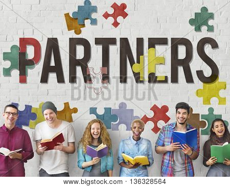Partners Alliance Collaboration Teamwork Team Concept