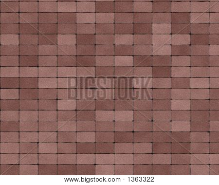 Small Paved Stones Brick Background