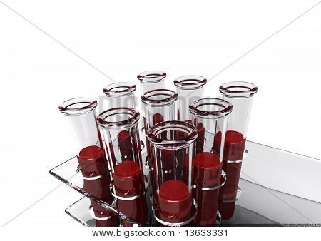 3d Blood Tests