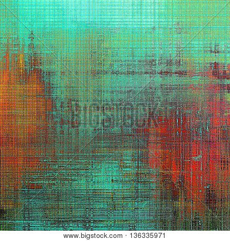 Ancient textured background or shabby backdrop. With different color patterns: yellow (beige); green; blue; red (orange); cyan; pink
