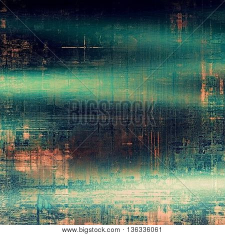 Cute colorful grunge texture or tinted vintage background with different color patterns: brown; gray; green; blue; cyan; pink