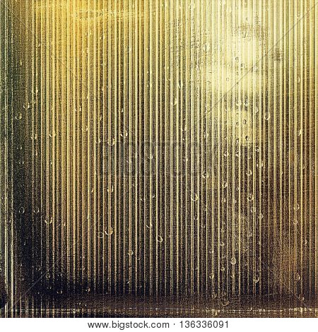 Retro style background with grungy vintage texture and different color patterns: yellow (beige); brown; gray; black