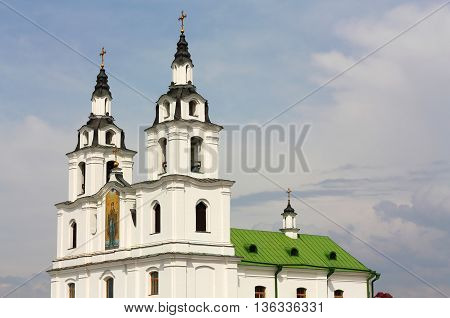 Medieval church built in the of northern baroque style
