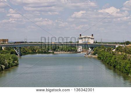 Trucks Over The Bridge