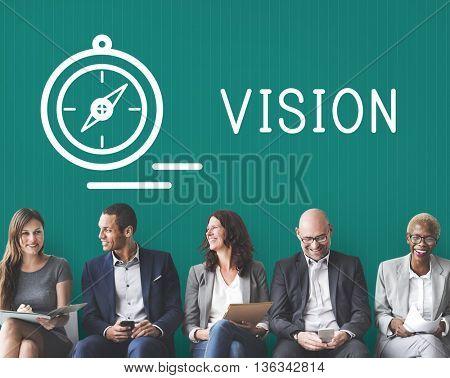 Vision Imagine Ideas Goals Inspiration Concept