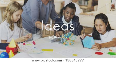 Ideas Thoughts Creativity Inspiration Imagination Concept