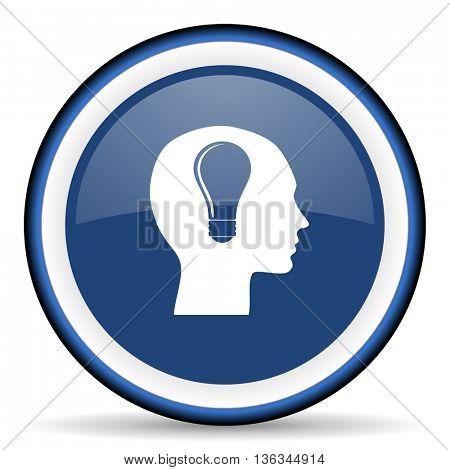head round glossy icon, modern design web element