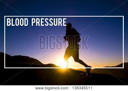 Blood Pressure Symptom Healthcare Diagnosis Circulatory System Concept