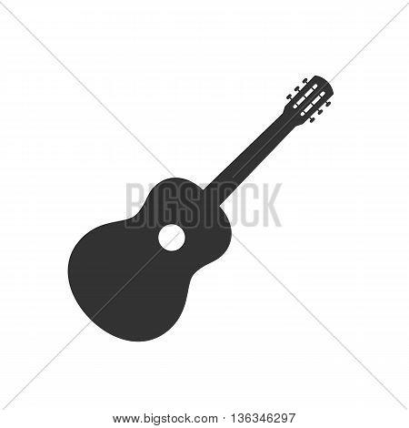 Guitar icon symbol sign. Guitar logo template