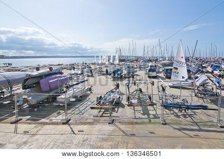 Windsurfing Competition Palma