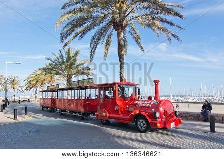 Red Tourist Train