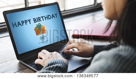 Happy Birthday Event Occasion Anniversary Concept