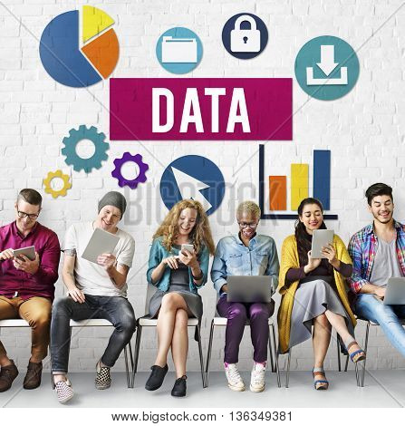 Data Analysis Information Technology Concept