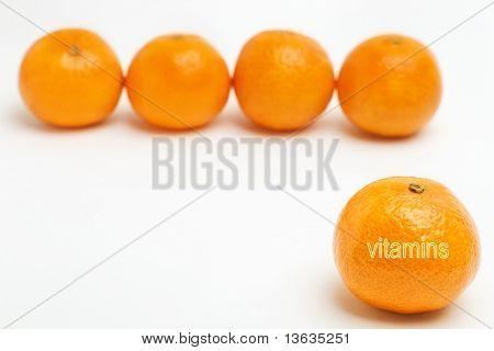 vitamins in tangerines