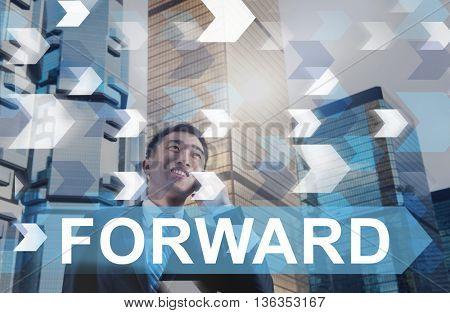 Forward Change Ahead Development Concept