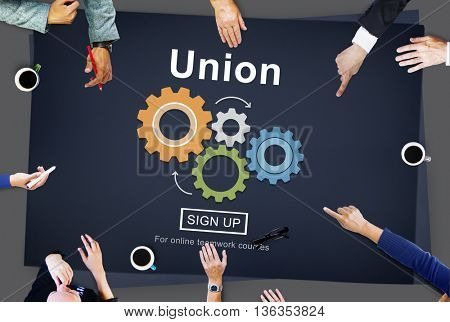 Union Unity Team Community United Concept