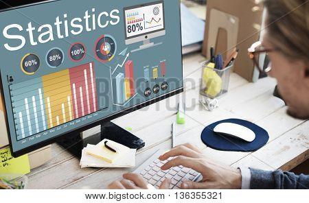 Statistics Marketing Planning Report Strategy Concept