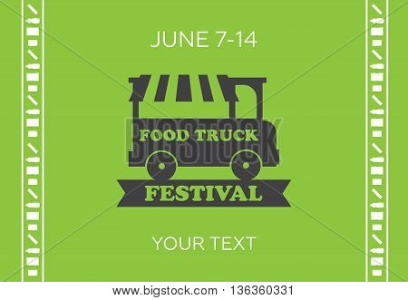 Urban street food vector illustrations for poster eps10