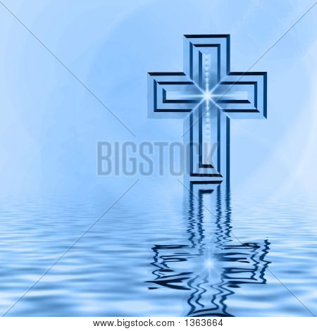 Cross Reflection In Blues