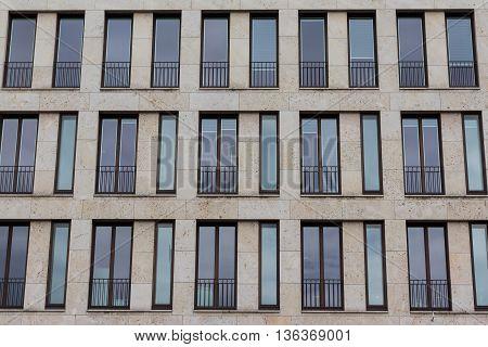 modern building exterior - front house facade