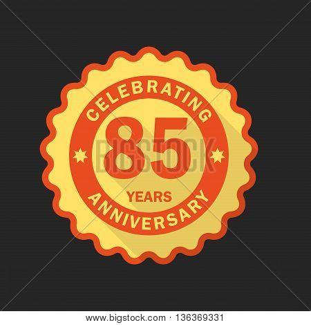 Anniversary Emblem, Template.