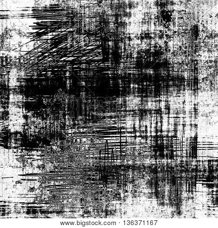 art abstract monochrome grunge graphic black and white background