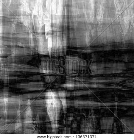 art abstract monochrome chaotic grunge graphic blurred black and white background