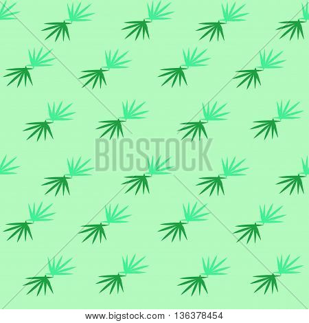 Grass seamless pattern. Fashion graphic background design. Modern stylish abstract colorful texture. Template for prints textiles wrapping wallpaper website etc VECTOR illustration