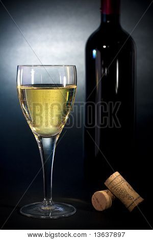 Wine - Luxury Art Background