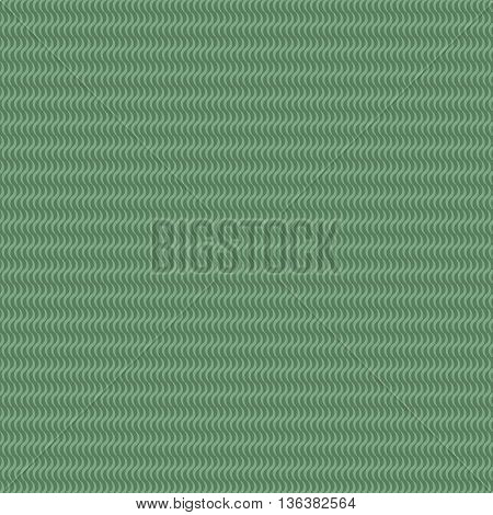 Wave line green seamless pattern. Fashion graphic background design. Modern stylish abstract texture. Monochrome template for prints textiles wrapping wallpaper website etc. VECTOR illustration