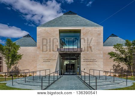 Fred Jones Jr. Museum Of Art At University Of Oklahoma