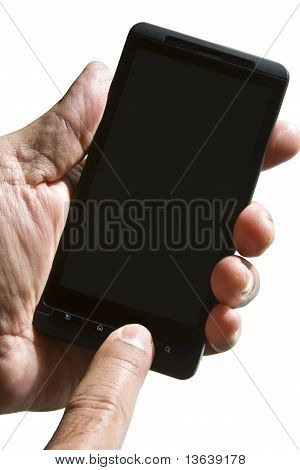Smartphone Two-hand Operation