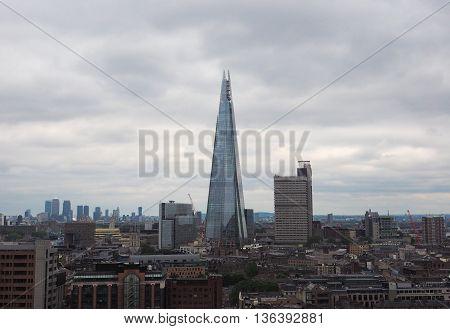 Shard Skyscraper In London