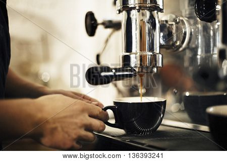 Coffee Making Business Cafe Barista Concept