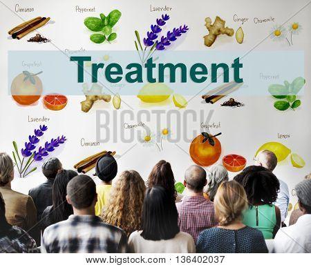 Health Care Treatment Vitamins Health Concept