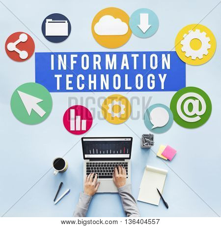 Information Technology Online Connect Network Concept
