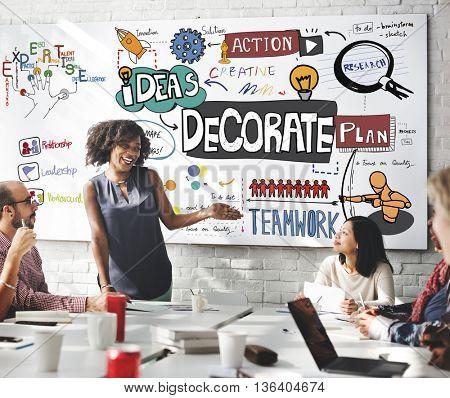 Decorate Decoration Style Design Trends Concept
