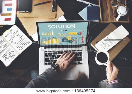 Business Profit Results Analytics Statistics Concept