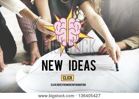 New Ideas Vision Creativity Imagination Concept