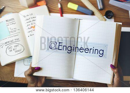 Engineering Building Construction Industrial Concept