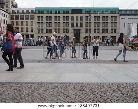 Pariser Platz In Berlin