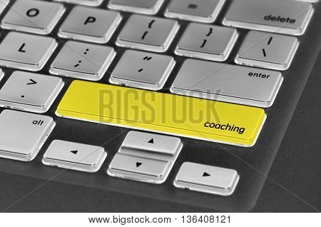 Keyboard  Button Written Word Coaching