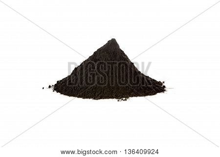 Black iron oxide magnetite is used as black pigment a catalyst and used by the pharmaceutical industry in a preparation against anemia. Fe3O4