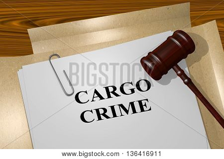 Cargo Crime Legal Concept