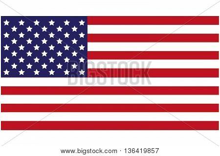 USA Flag american flag flat usa flag national flag