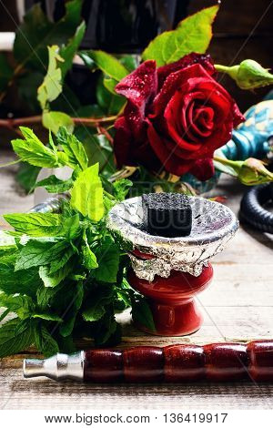 Shisha With The Scent Of Roses
