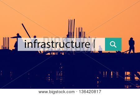 Infrastructure Buildings Structure System Facilities Concept