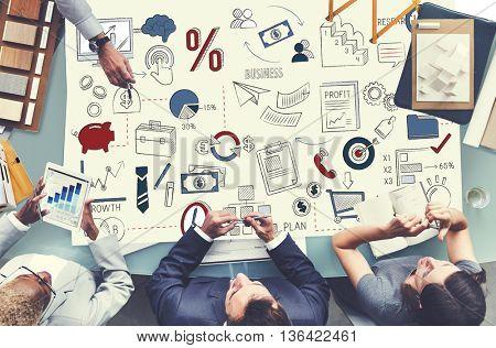 Business Planning Corporate Development Start up Concept
