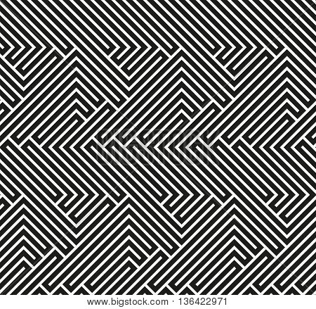 Abstract wallpaper with strips. Seamless colorful background. Black and white wallpaper